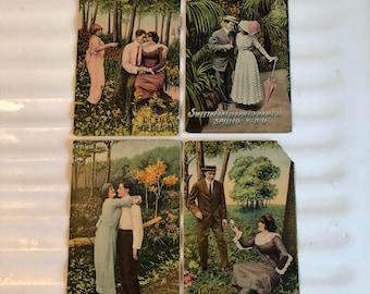 Valentine Postcard Lot