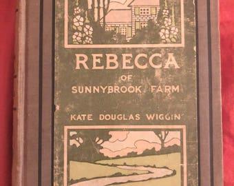 1903 Rebecca of Sunnybrook Farm Kate Douglas Wiggin hardcover book Grosset Dunlap