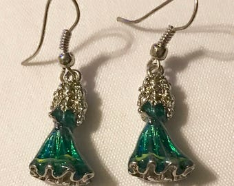 Disney Princess Tiana dangle earrings