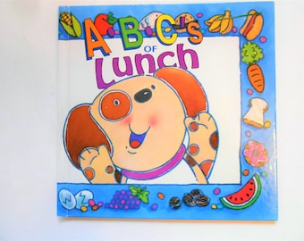 ABCs of Lunch, a Vintage Children's Alphabet Book
