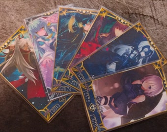 Fate/Grand Order Servant and Craft Essence Cards