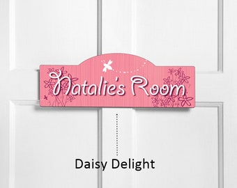 Personalized Kid's Room Signs - Personalized Kids Signs - Girl's Room Signs - Personalized Kid's Door Signs - Personalized Kid's Gifts