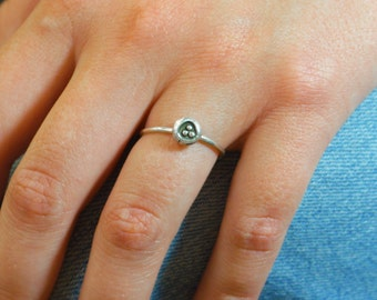 BoHo Ring, Statement Ring, Tribal Ring, Bohemian Ring, Silver Ring, Sterling Ring, Stacking Ring, gypsy ring, hippie ring, fun ring,  BOHO