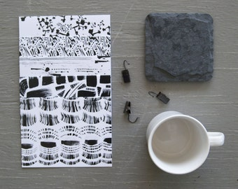 Black and White Stationery, Mix of Blank Card Set