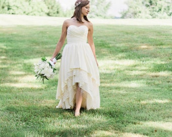 Beach Boho Wedding Dress - Stella by Starlight