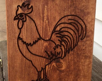 Chicken (rooster) sign