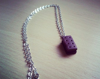 Mini Chocolate Bourbon Necklace