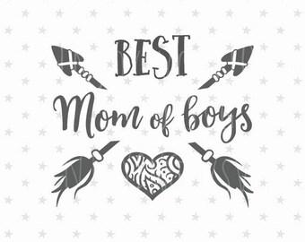 Best Mom of boys svg Best Mom svg Mom of boys svg Mother's Day svg Best Mom svg Gift For Mothers Day svg Worlds Best Mom svg Mom of boys svg