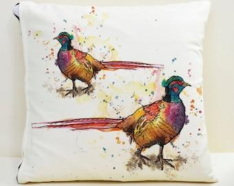 Pheasant Cushion Cover