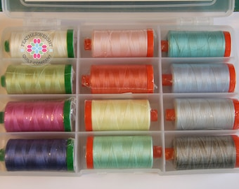 Spring Cleaning Sale ****Elements by Kate Spain - Aurifil Thread Collection - SALE PRICE