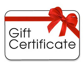 Gift Certificate for Custom Metal Sign Personalized Gift, Valentines Day gift for wife, husband, mom, dad, teacher, cousin, wife,