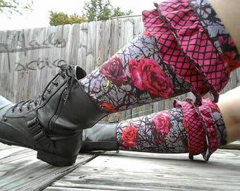 Ladies' Knockout Socks - PDF Sewing Pattern