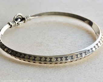 Stamped Viking Bracelet from Gotland