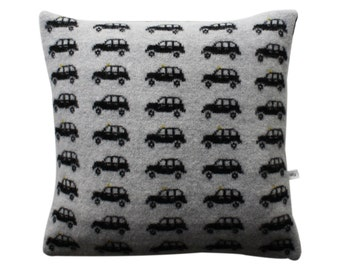 Lambswool London Taxi Cushion