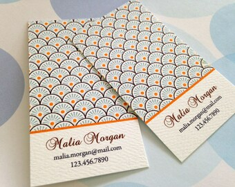 Personalized Business Card, Calling Card - Set of 50