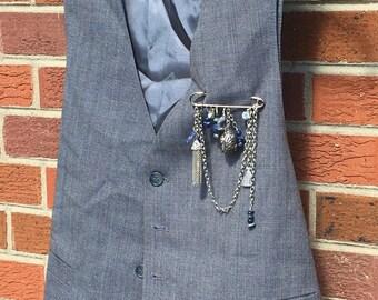 Vest Pin and Vest