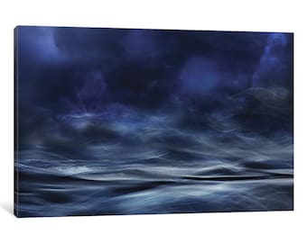 iCanvas Lost At Sea Gallery Wrapped Canvas Art Print by Willy Marthinussen