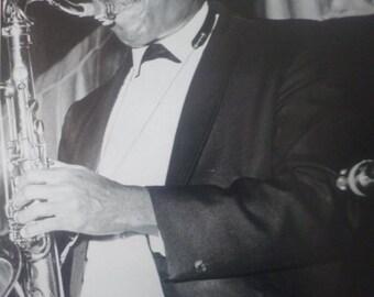 John Coltrane, 1950s New York - Laminated Original A4 Press Poster