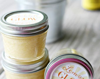 Lemon Face Scrub for instant Glow