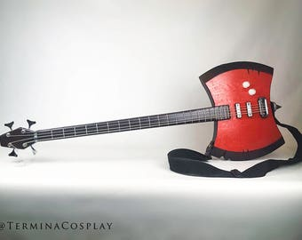 Marceline's Axe Bass Guitar Cosplay Prop - Adventure Time