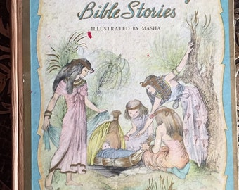 A Child's Book of Bible Stories, Jane Werner, Illustrated by Masha, 1944