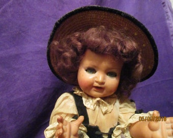 Very old doll antique Elissa