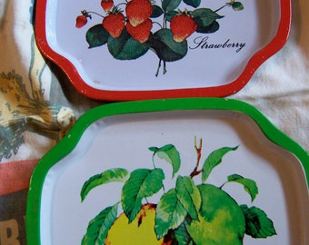 two fruity tip trays