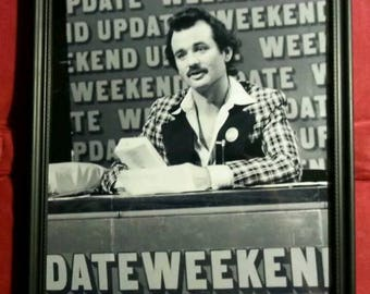 Bill Murray Saturday Night Live SNL Weekend Update Photo Framed Art Print Gift