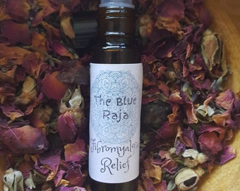 Fibromyalgia Relief Roller Bottle, Holistic, Homepathic Remedy, Pain Relief, Essential Oils, Aromatherapy