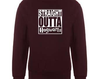Funny Straight Outta Gryffindor Sweatshirt Jumper inspired harry