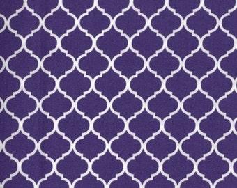 Mini Quatrefoil - Cotton Woven Fabric
