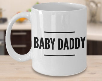 Baby Daddy Mug Baby Daddy Gift New Dad Gifts From Wife New Dad Father's Day Gifts New Dad Coffee Mug Ceramic Coffee Cup Gift for New Daddy