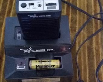 Vintage Regency MicroCom Communications Radio Charger Base Model MA Electronics Multiplier Amateur Ham Commercial Land CB Mass Transmitter