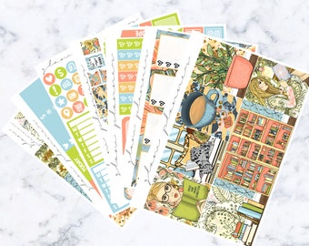 Library: March Sub Luxe Sticker Kit