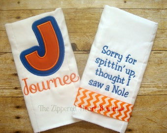 Gator Burp Cloth Combo