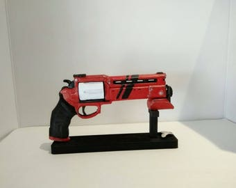 Customized replica  pistol inspired in Lord High Fixer 3D printed