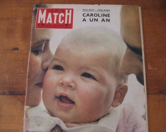 Sale ! PARIS MATCH  edition nr. 460 february 1958.