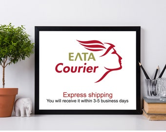 Express shipping with ELTA courier