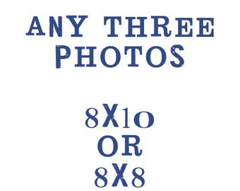 set of three 8x8 or 8x10 fine art photographs, customize your set, you pick three - shannonblue photography