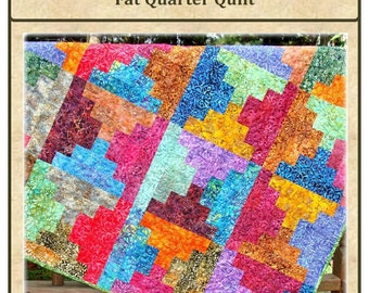 PDF Quilt Pattern Graceful Steps Carlene Westberg Designs Fat Quarter Quilt
