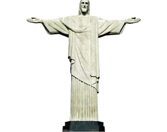 Christ the Redeemer Brazil - Cardboard Cutout