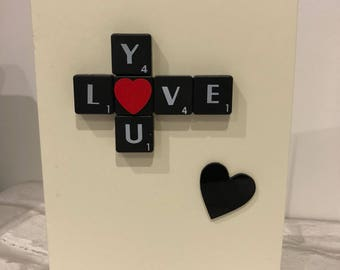 Handmade Valentine's Day Card Love Card
