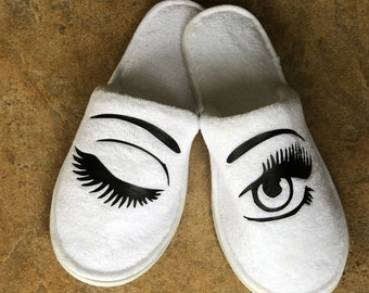 Winking Spa Slippers