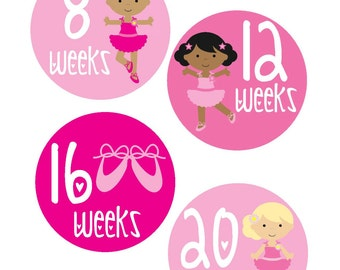 Weekly Pregnancy Stickers, Pregnancy Announcement, Pregnancy Belly Stickers, Pregnancy Photo Prop, Maternity Stickers, P03
