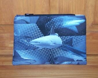 Shark Zippered Pouch