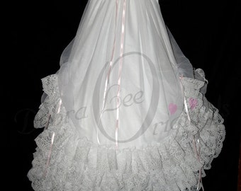 Allison Christening Gown / Christening Dress / Blessing Gown / Blessing Dress