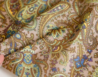 Waterproof Fabric Paisley By The Yard