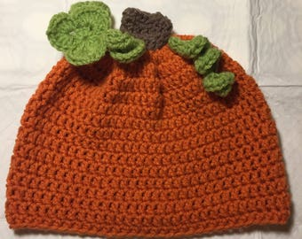 Youth to Adult One Size Fits Most Pumpkin Hat