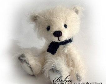 BOBIN - OOAK artist bear epattern by Jenny Lee of jennylovesbenny bears PDF
