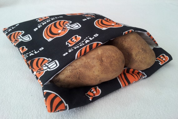 Cincinnati Bengals Microwave Baked Potato Bag